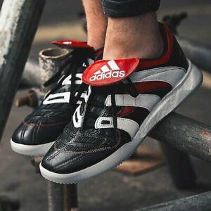 Adidas-predator-accelerator-Football-Bottes-Baskets-Homme-Noir-Rouge-UK-9-5-d96670