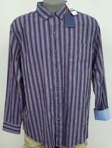 Tommy Bahama Ikat Rabat Ocean Deep Striped L/S Men Shirt NWT $125 Choose Size