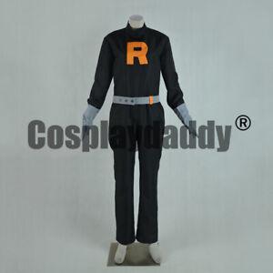 Pokemon-HeartGold-and-SoulSilver-Team-Rocket-Grunt-Male-Cosplay-Costume-F006