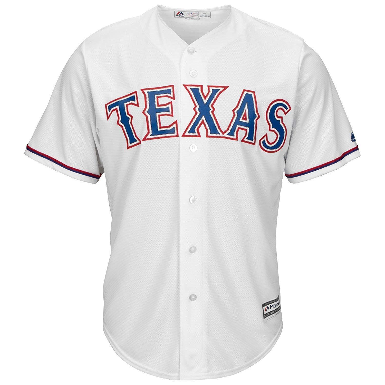 MLB Baseball Trikot Texas Texas Trikot Rangers Home weiß Cool base Majestic Jersey f931d4