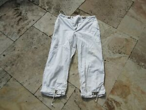 US-Army-Trousers-Field-over-White-M1944-WWII-Winter-Pants-Snow-Camo-Qm-Depot
