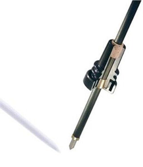 Bender Pique Violoncelle Extrémité Broche 25 mm Carbone Canne