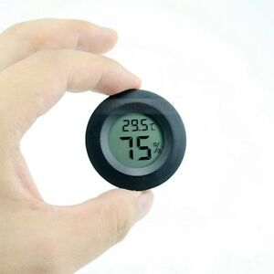 Digital-LCD-Innen-Aussen-Runde-Thermometer-Luftfeuchtigkeit-Temperatur-Hygrometer