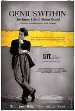 GENIUS WITHIN: THE INNER LIFE OF GLENN GOULD Movie Promo POSTER Canadian