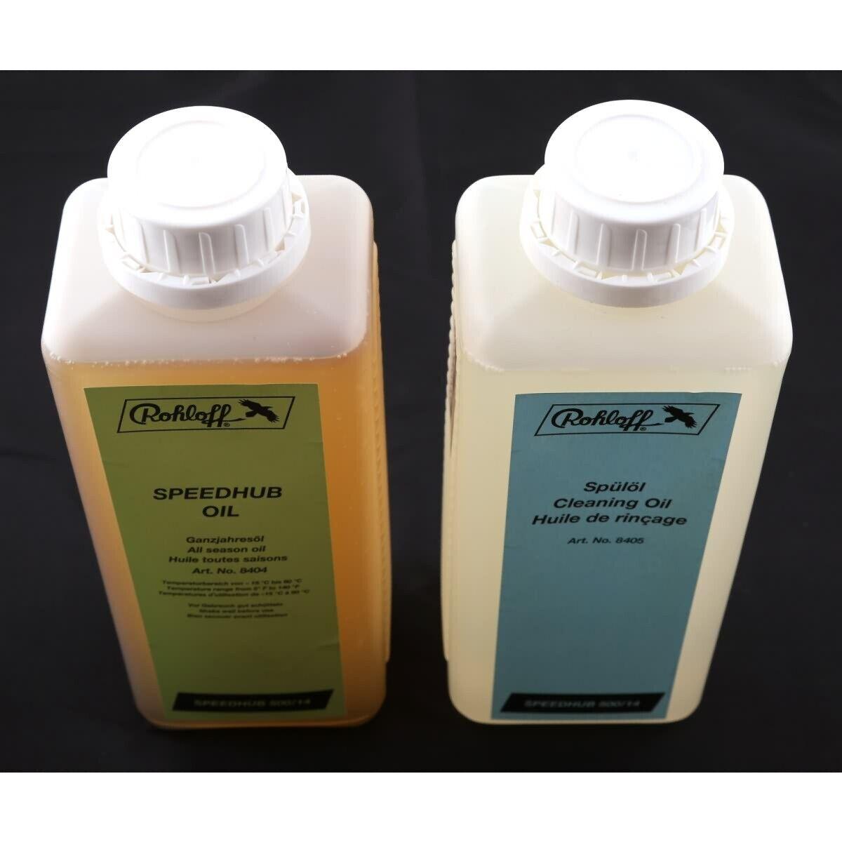 Rohloff Olio & Scarico Contenitore Set 1 LITRI No. 8406 manutenzione Speedhub
