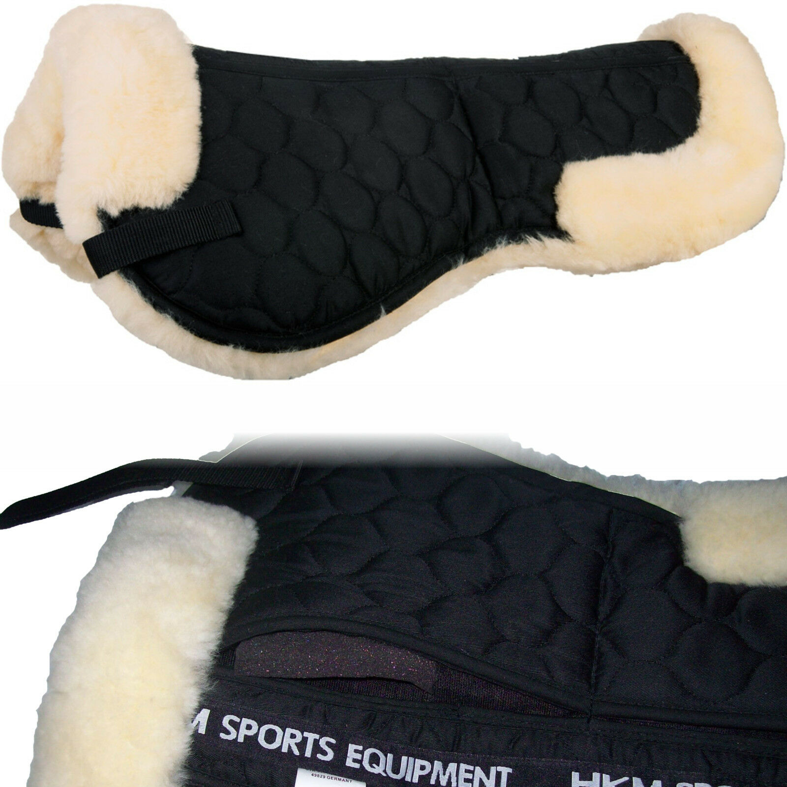 HKM Real Lamb's fur Correction Saddle Pad  (6825)  quality first consumers first