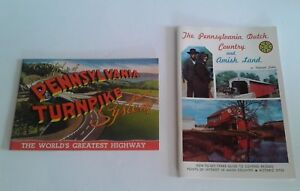 Vintage-Travel-Brochure-Pennsylvania-Turnpike-Dutch-Amish-Country-Souvenir-Book