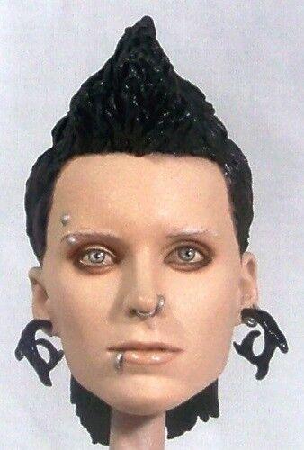 1 6 Custom Head Rooney Mara   Lisbeth Salander - The Girl with the Dragon Tattoo
