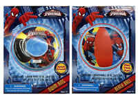Marvel Spiderman Set -kids Inflatable Swim Ring Tube Float & Pool Beach Ball Toy