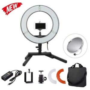 Dimmable Diva Led Mini Ring Light 14 40w Mirror Stand Make Up