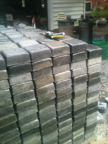 DIY DRIVEWAY PAVER KIT w//12 MOLDS /& SUPPLIES MAKE 100s OF #972 PATIO PAVERS TOO!