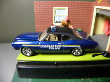1971 CHEVY CHEVELLE  CHARLESTON POLICE CAR     JOHNNY LIGHTNING    1:64 DIE-CAST