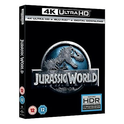 Jurassic World (4K Ultra HD + Blu-ray + Digital Download) [UHD]