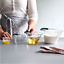 Pampered Chef Easy-Read Measuring Cup Set Of 4 Nest Together