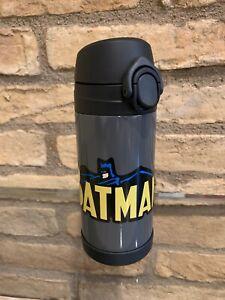 New Pottery Barn Kids Batman Gray Insulated Medium 12 Oz