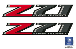 2015 15 Chevy Silverado 1500 Z71 OFF ROAD Bed Side Decal Stickers Set Of 2