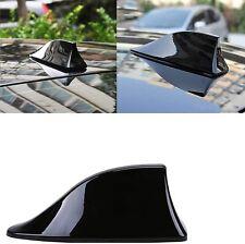 Car Shark Fin Antenna Cover Am Fm Radio Signal Roof Aerial Adhesive Tape Base