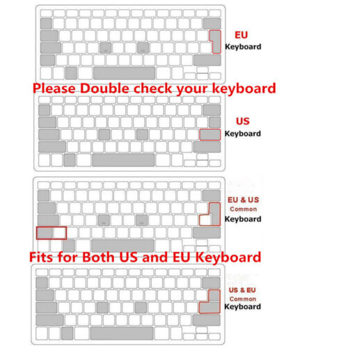 Propellerhead Reason Shortcuts Keyboard Cover Silicone Skin for Mac Air Pro13 15