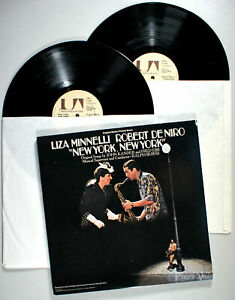 Liza-Minnelli-New-York-New-York-1977-2-LP-Vinyl-Robert-De-Niro-Soundtrack