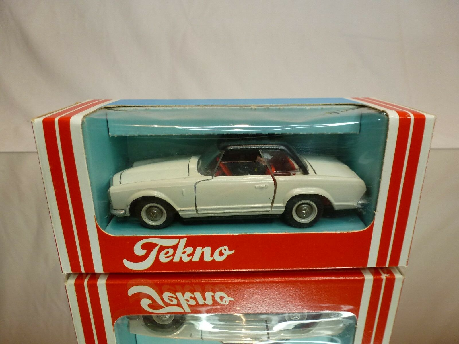 TEKNO DENMARK - MERCEDES 280  NO= 929  POLICE  - GOOD CONDITION - IN BOX