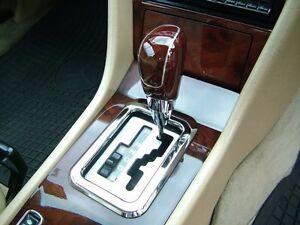 Interior Chrome Gear Shift Shifter Surround Frame For Mercedes Benz W124 Ebay