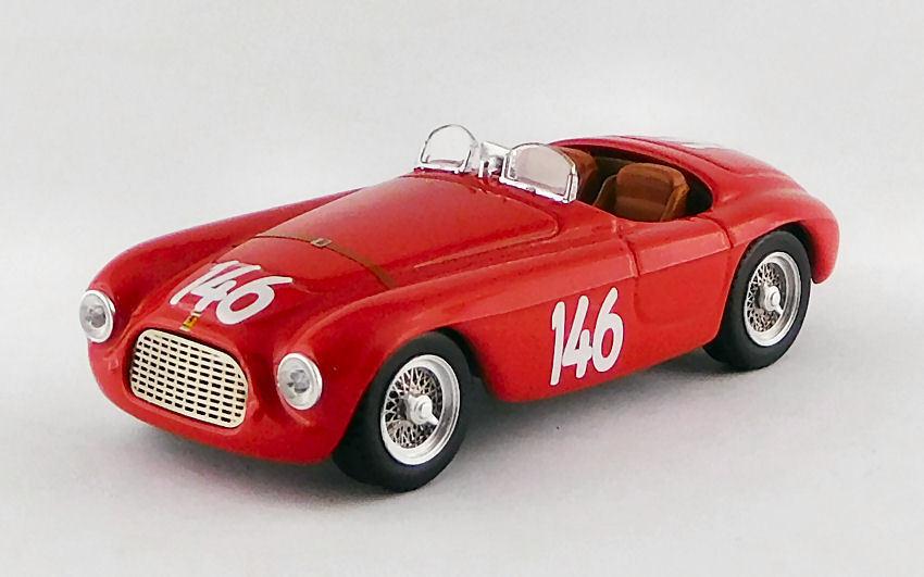 Ferrari 166 MM Barchetta  146 Winner Coppa Dolomiti Dolomiti Dolomiti 1950 G. Marzotto 1 43 Model b32fd1