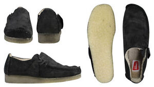 Uk 11 9 8 5 Lugger Black Men Warm 10 7 5 Wallabees Clarks 9 8 Originals G qP8ZWY