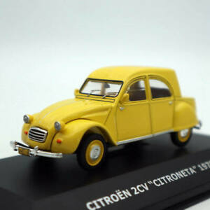 IXO-1-43-Chile-CITROEN-2CV-Citroneta-1970-Car-Diecast-Toys-Models-Collection