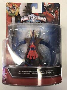 BNIB Power Rangers Super Ninja Steel 12.5cm Villain Ripcon Figure 43951