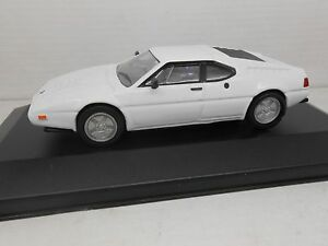 COCHE-BMW-M1-BLANCO-PLANETA-AGOSTINI1-43-METAL-MODEL-CAR-1-43-MINIATURA-MINIATUR