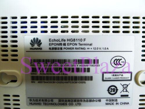 H.248 /& SIP,English EPON ONU Huawei HG8110F 1 Tel port ONT,1 Lan port