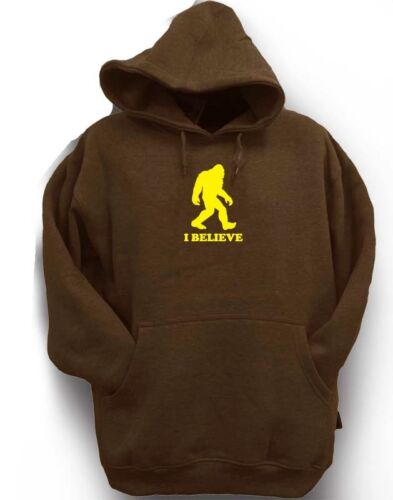 I Printe Hipster Bigfoot Sasquatch Believe Hoodie Fleece Funny Men's Pullover Nw Eaw0q5A