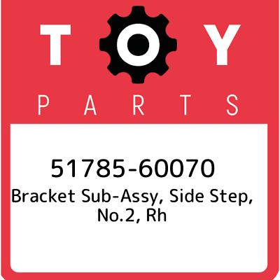 RH//LH 51797-60080 5179760080 Genuine Toyota BRACKET NO.3 SIDE STEP