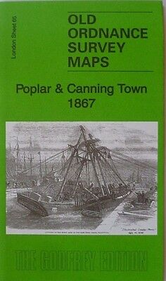 OLD ORDNANCE SURVEY MAP CANNING TOWN CUSTOM HOUSE 1914 VICTORIA DOCK ROAD