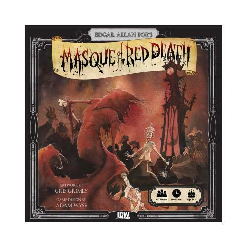 Masque of the rot Death  - Boardgame IDW Games