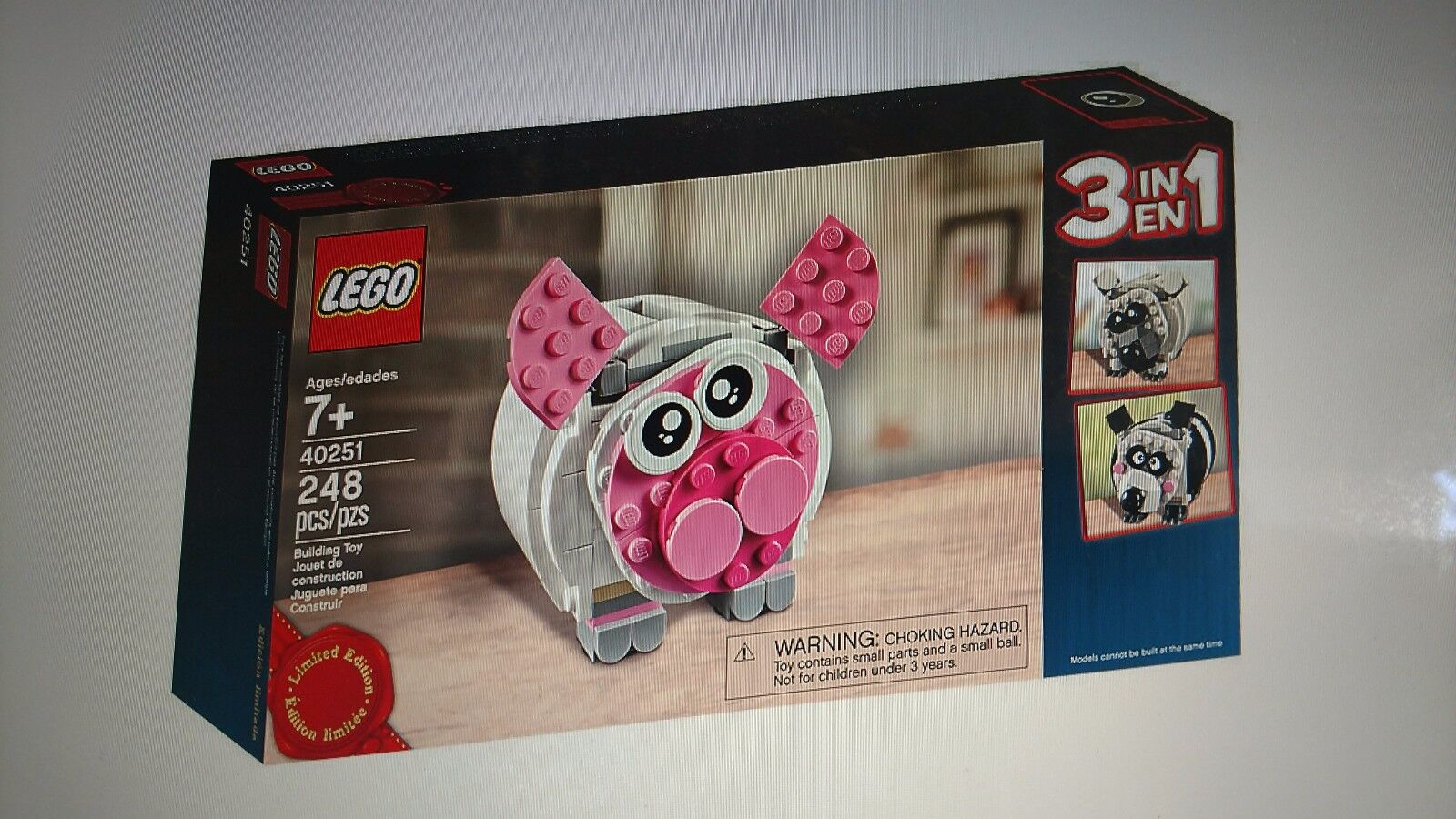 Neues Neues Neues lego 40251 3 in 1 sparschwein promo - 248 - pcs limited edition    free shipping   c72b49