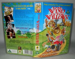 The-Wind-In-The-Willows-Children-039-s-VHS-Tape-amp-Case-VHS-Collectable-VHS