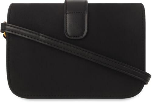 Damentasche Schultertasche City Style Retro steife Ausführung schwarz