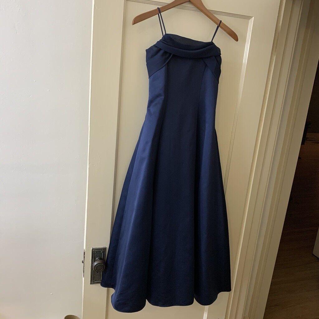 Michaelangelo fully lined formal dance bridesmaid dress Sz 8 David's Bridal Prom