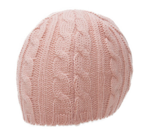 Thick Knitted Cuffless Beanie