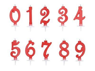 numerale h 7cm 10 Dieci candela di compleanno in cera a forma di numero Candelina VERDE FLUO per Torta e dolci Candela numero 10 VERDE