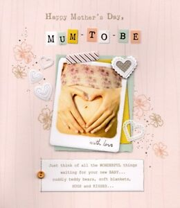 Mum-To-Be-Happy-Mother-039-s-Day-Card-Expectant-Mother-Greeting-Cards