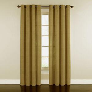Image Is Loading 1 WAVERLY Grantham Plaid Grommet Curtain Rod Drapery