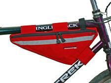 Bushwhacker Tahoe Red Frame Bike Bag Top Tube Cycling Bag Bicycle Triangle Pack