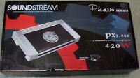 Soundstream Px2.420 420w Rms, Picasso Series 2-channel Car Audio Amplifier