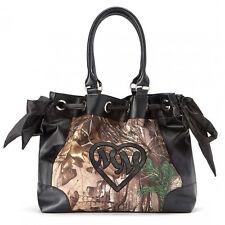 Metal Mulisha Women's Realtree Stealthy Purse Handbag Black purse bag moto ridin