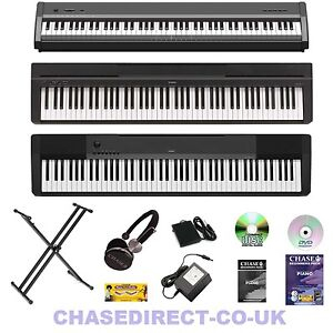 casio chase yamaha digital electric portable piano 88 note weighted keyboard ebay. Black Bedroom Furniture Sets. Home Design Ideas