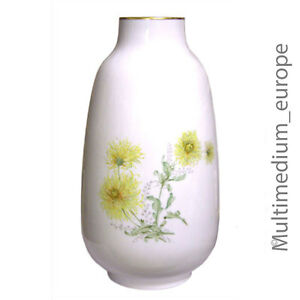 Grande-Porcellana-Vaso-da-Pavimento-Lorenz-Hutschenreuther-Blumen-Dekor