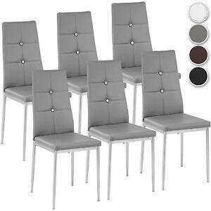 Set di sedia per sala da pranzo tavolo cucina eleganti moderne ...