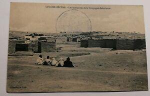 473-Antica-Cartolina-Colomb-Bechar-Case
